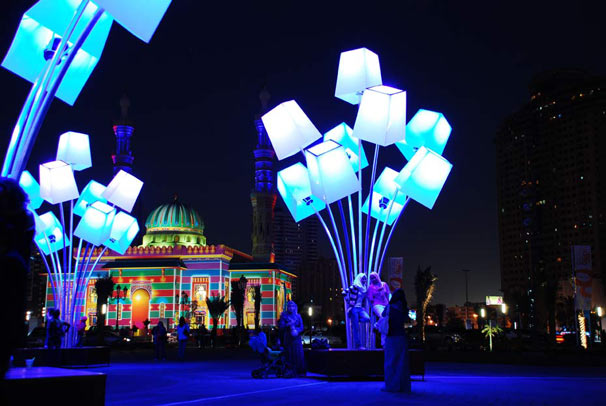 tilt sharjah light festival